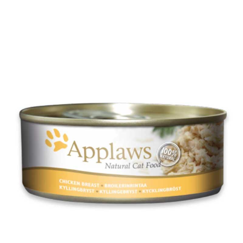 Applaws Chicken Breast - консерва с пилешко месо в бульон