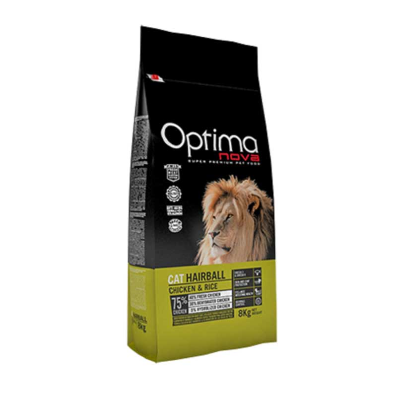 Optima Cat Hairball Chicken 2кг
