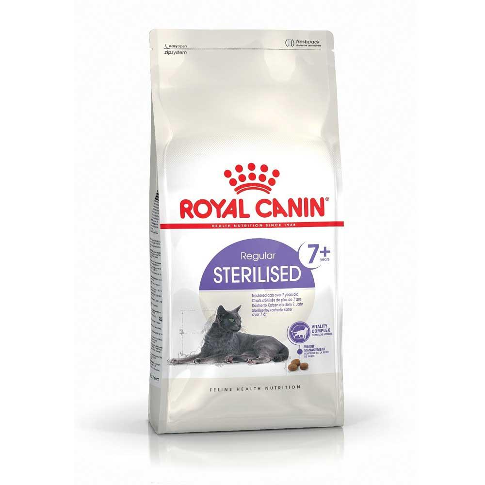 Royal Canin Sterilised +7 - за кастрирани котки над 7 динищна възраст