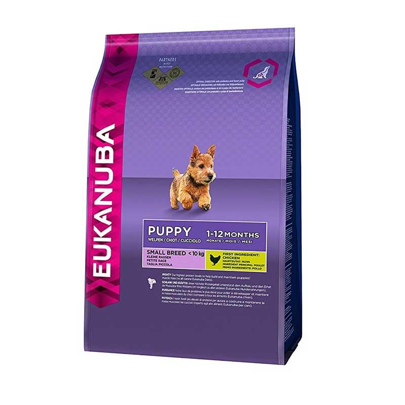 Eukanuba Puppy Small Breed - за кученца от  малки от породи