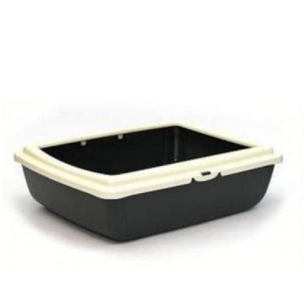 M.P. Bergamo Juliet - котешка тоалетна с борд, размери: 48/38/14 см