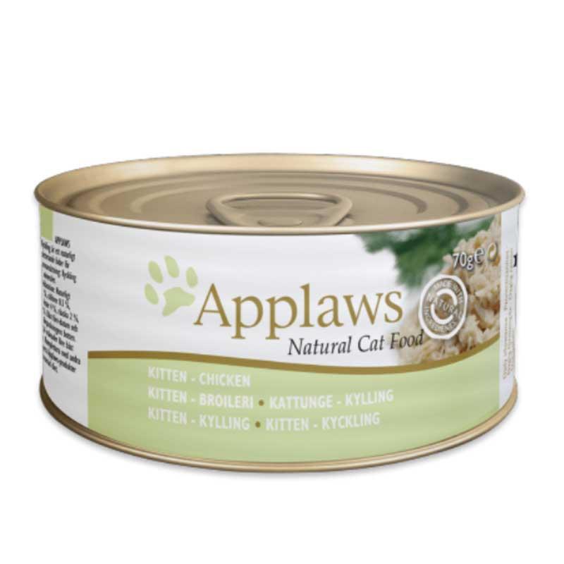 Applaws Kitten Tin – Chicken - консерва за котенца с пиле 70гр