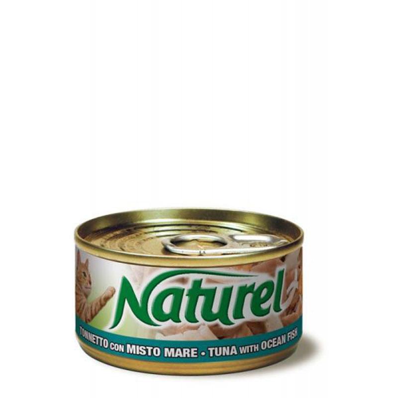 Life Natural Naturel Tuna with Ocean Fish - с филенца риба тон и океанска риба 70гр