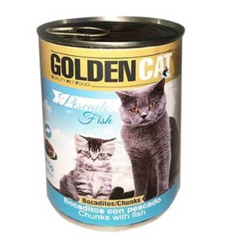 Piensos Ortin Golden Cat Pescado Fish 415гр
