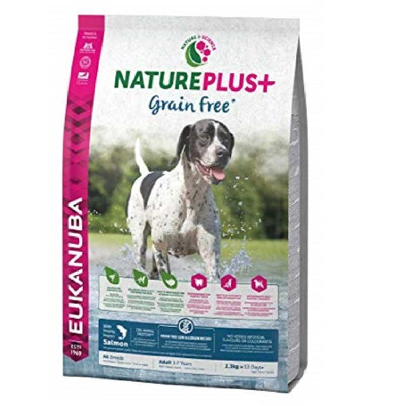 Eukanuba NaturePlus Grain Free Adult Salmon - храна за кучета, без зърнени добавки