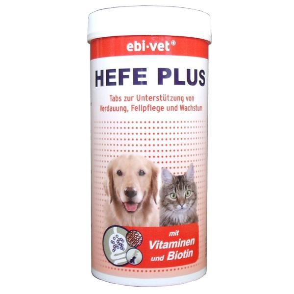 Ebi-Vet Hefe Plus - хранителна добавка Хефе Плюс 300табл