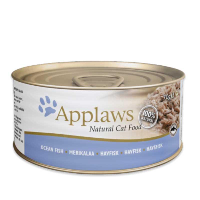Applaws Ocean Fish - консерва с океанска риба в бульон