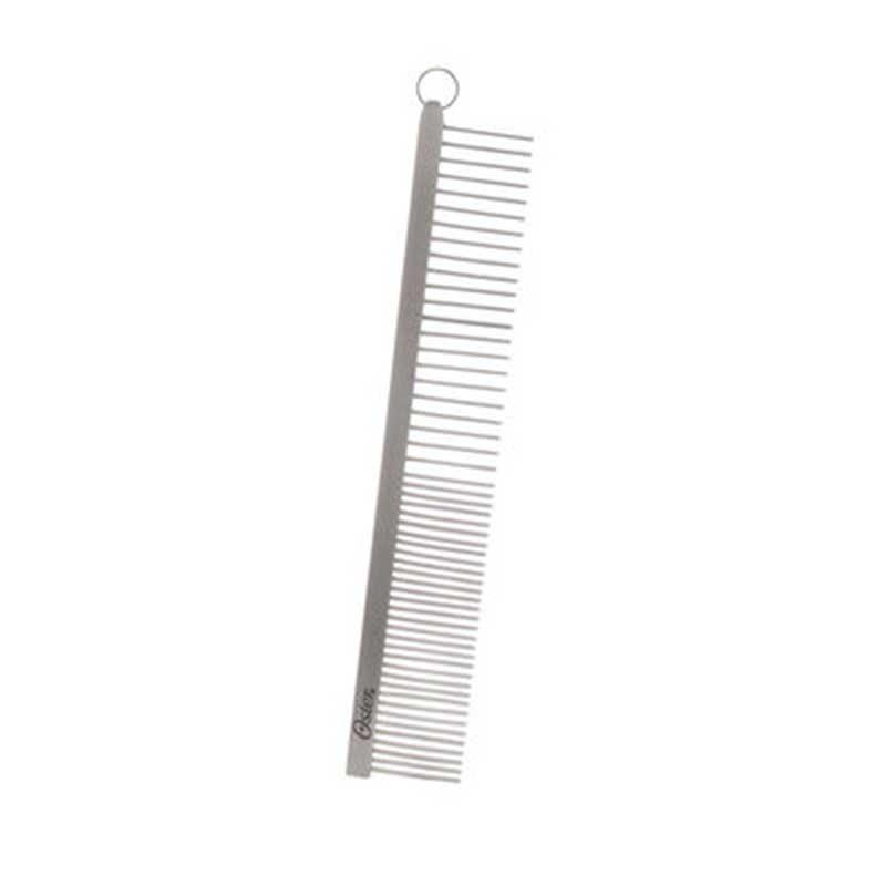 Oster Premium - метален гребен широки/тесно зъбци 18см