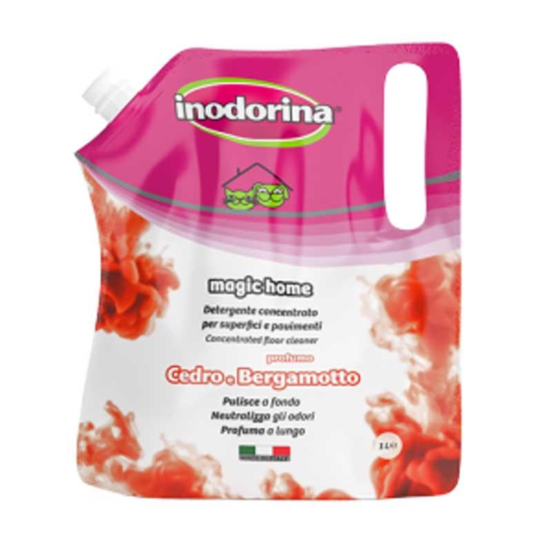 Inodorina Magic Home - почистващ, дезинфекциращ, обезмерисяващ препарат с различни аромати 1л