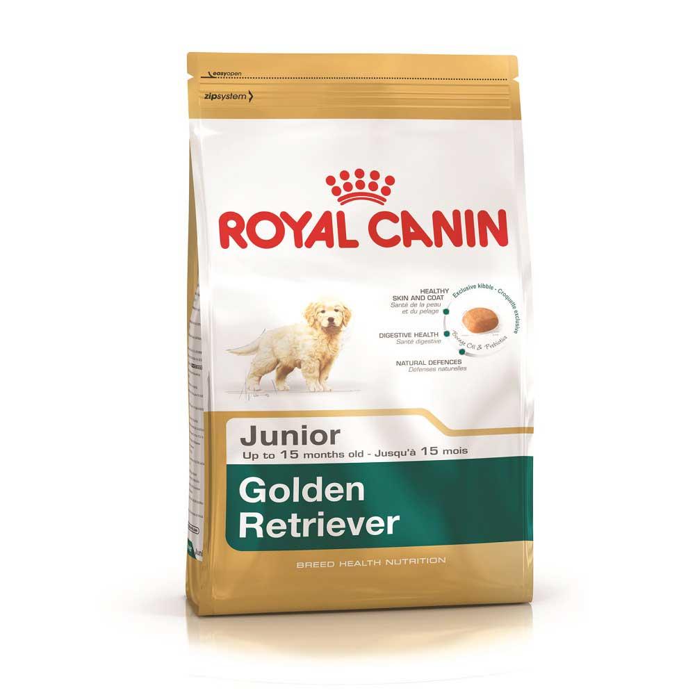 Royal Canin Golden Retriever Junior - за подрастващи кучета от порода Голдън Редривер