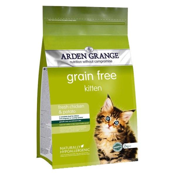 Arden Grange Kitten - с пилешко месо и картофи