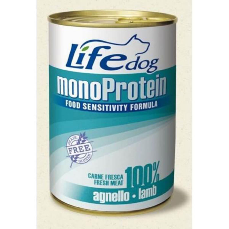 Life Natural Lifedog Monoprotein Lamb - с агнешко месо 400гр