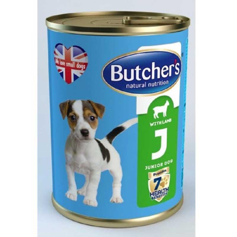 Butchers Life Junior with lmb - с агнешко месо, за кученца от 1 до 6 месеца 400гр