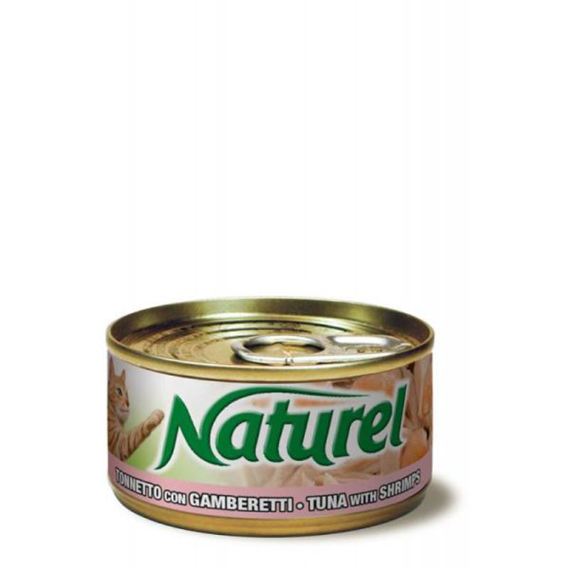 Life Natural Naturel Tuna with Shrimps - с филенца риба тон и скариди 70гр