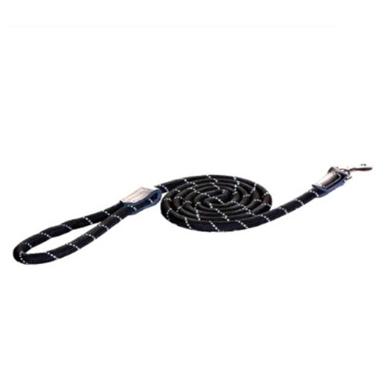Rogz Rope A - черен повод