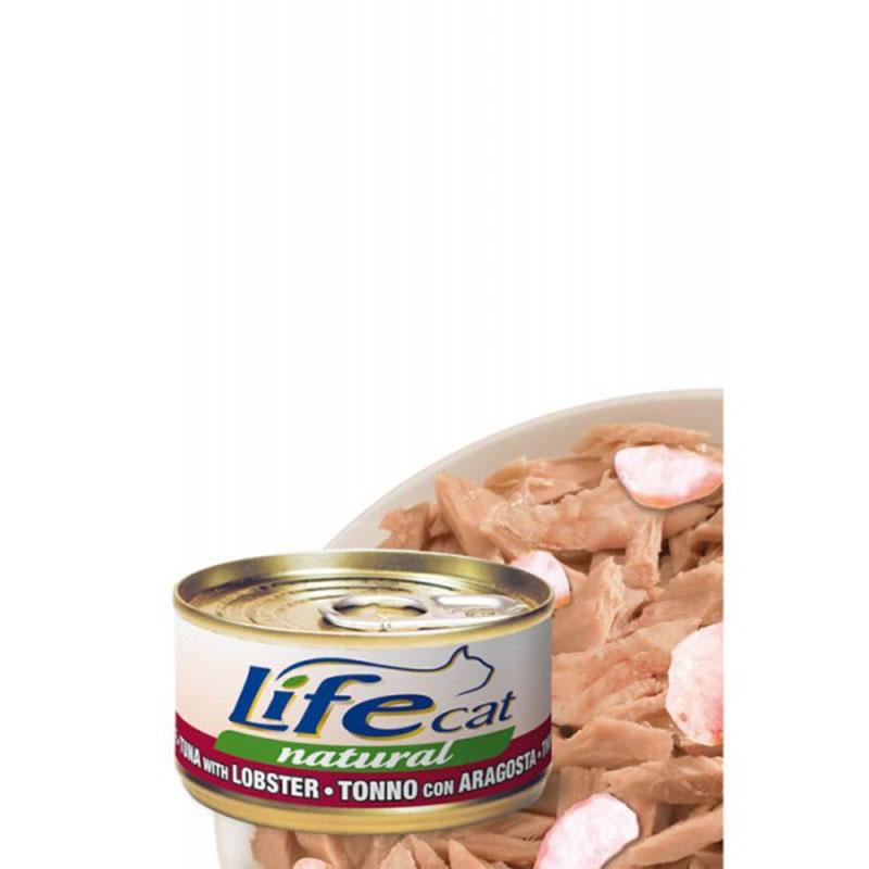 Life Natural Tuna with Lobster - с риба тон и омари 70гр