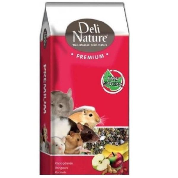Beduco Deli Nature Premium - пълноценна храна за малки гризачи 15кг