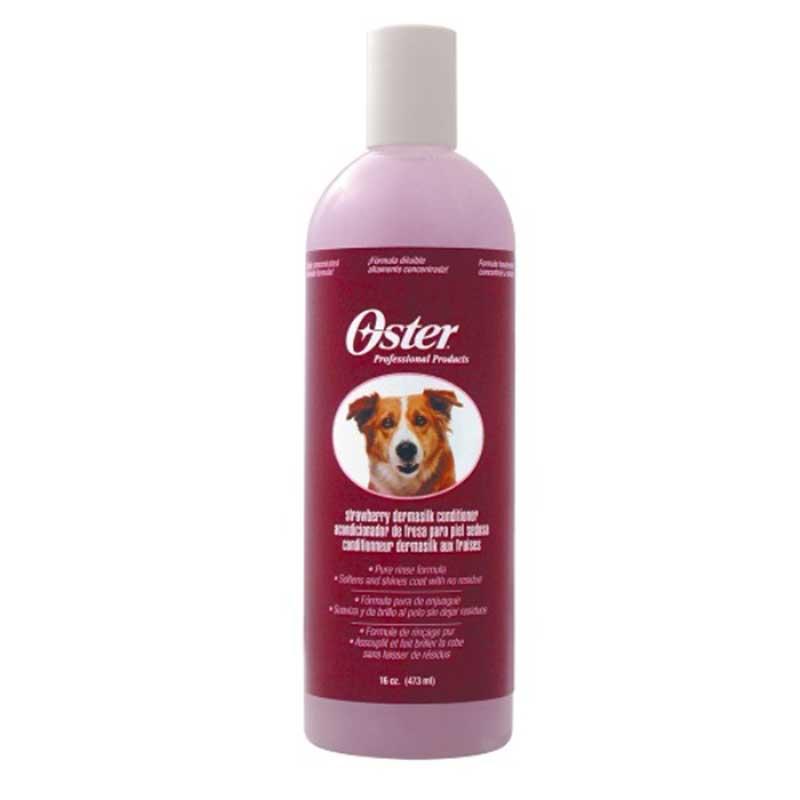 Oster Strawberry Conditioner - балсам за копринено мека козина с аромат на ягода /разреждане 1:10/