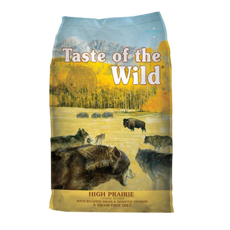 Taste of the Wild High Prairie Canine Formula Roasted Bison & Roasted Venison - кучешка храна с печено еленско и бизонско 13кг