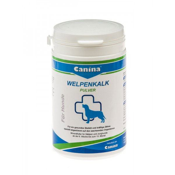 Canina Welpenkalk Tablets (Puppy Lime)- хранителна добавка, която оптимално регулира минералния баланс