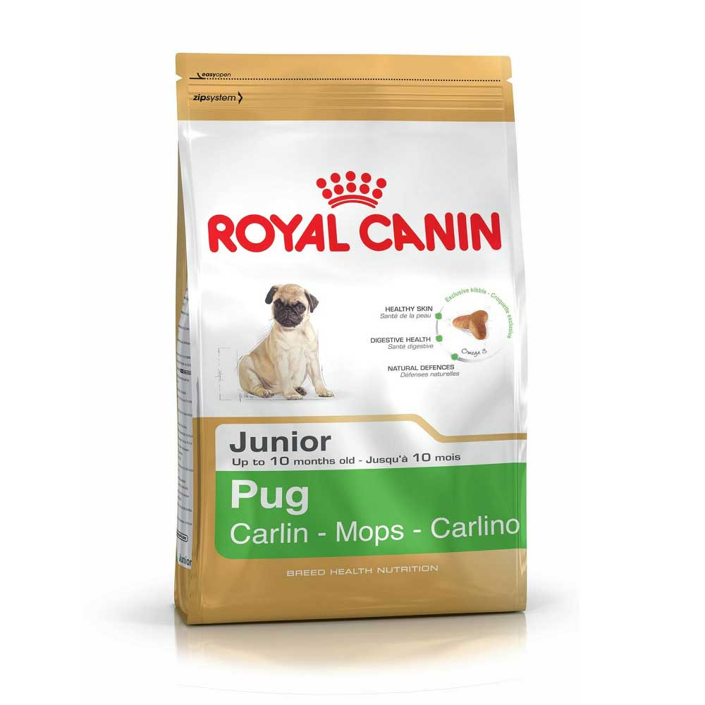 Royal Canin Pug Junior - за кученца от порода Мопс