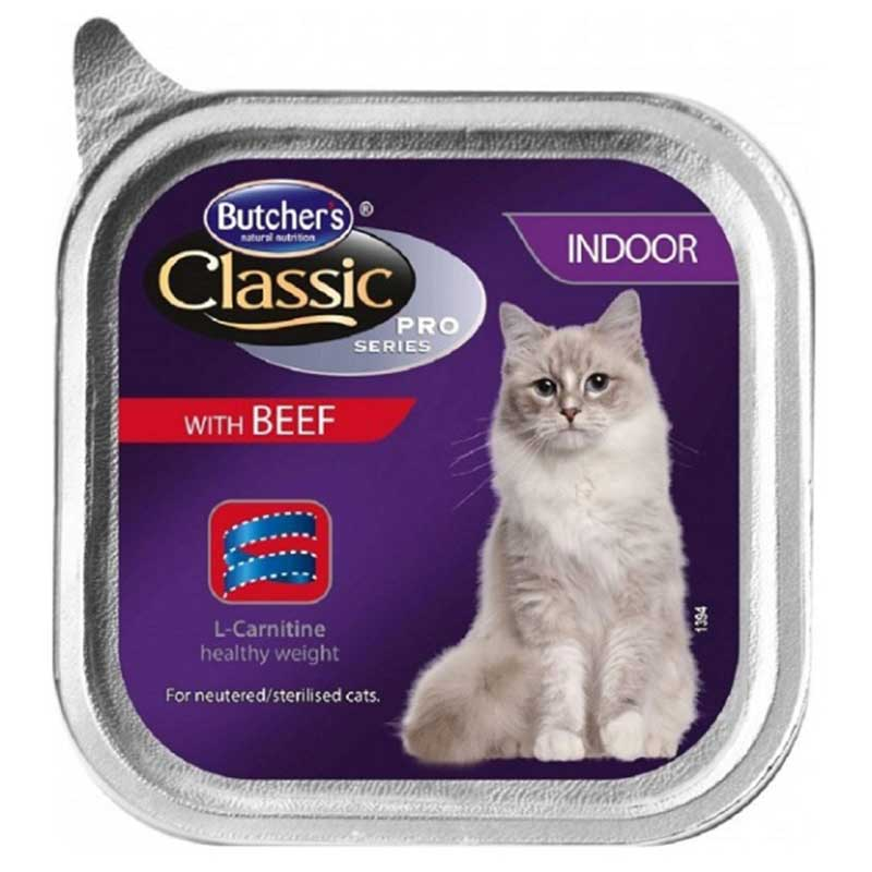 Butchers Classic Pro Series Skin & Coat with beef pate - пастет с говеждо месо 100гр