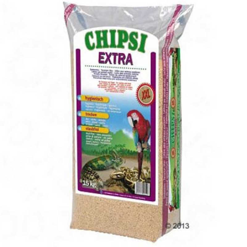 JRS Chipsi Extra XXL - буков гранулат, подходящ за влечуги и птици 10л