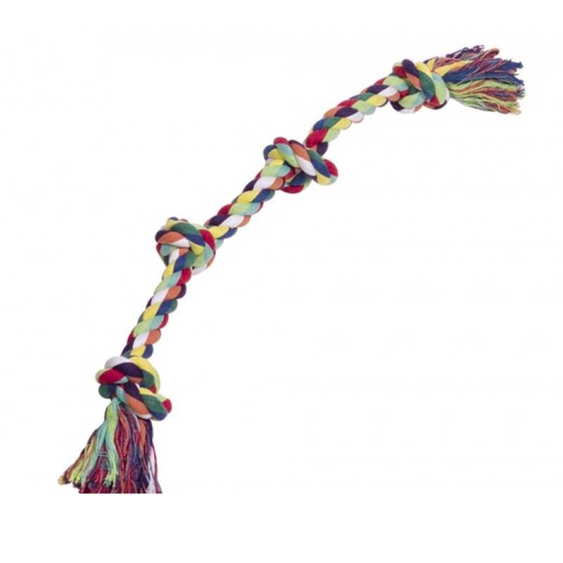 Nobby играчка въже с 4 възела 60см