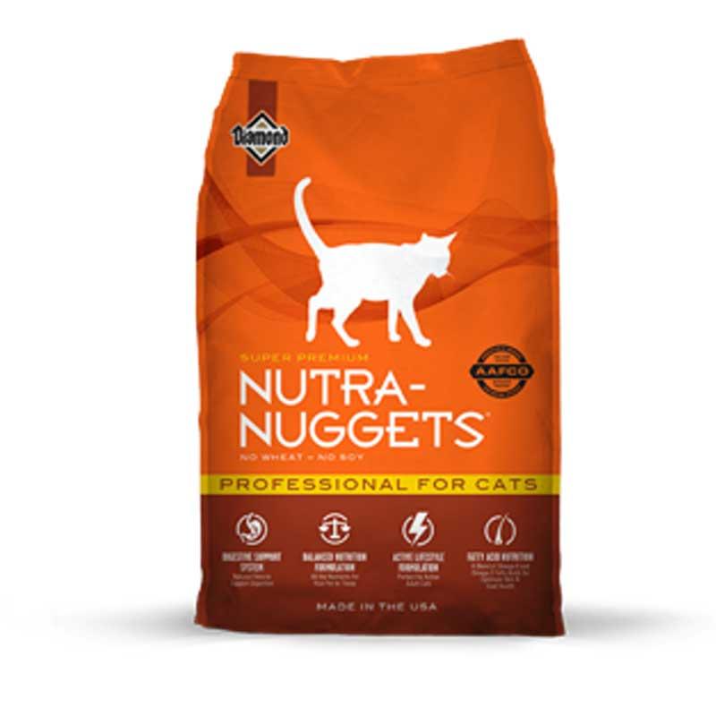 Nutra Nuggets Maintenance Cat - пълноценна храна за котки 7.5kg