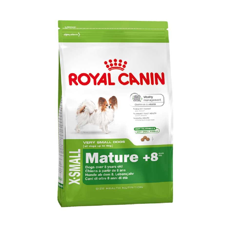 Royal Canin X-Small Mature +8 - за мини кучета над 8 години