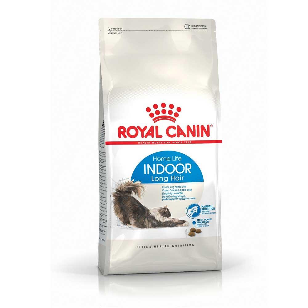 Royal Canin Indoor Long Hair - за дългокосмести котки живеещи на закрито