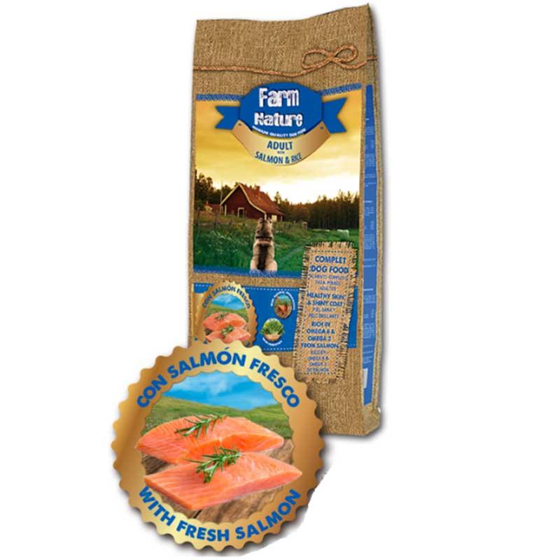 Farma Nature Salmon and Rice - със сьомга и ориз