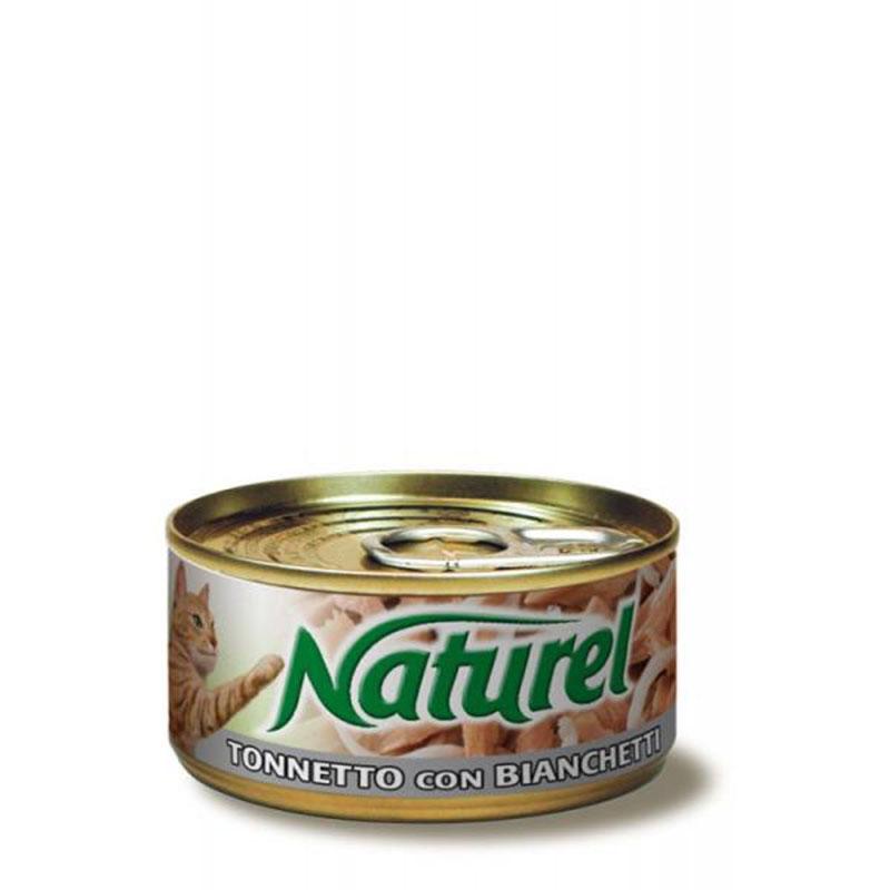 Life Natural Naturel Red Tuna with White fish - с филенца червена риба тон и бяла риба 70гр