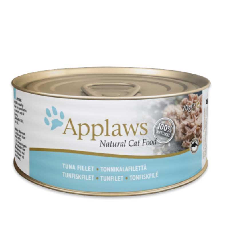Applaws Tuna Fillet - консерва с риба тон в бульон