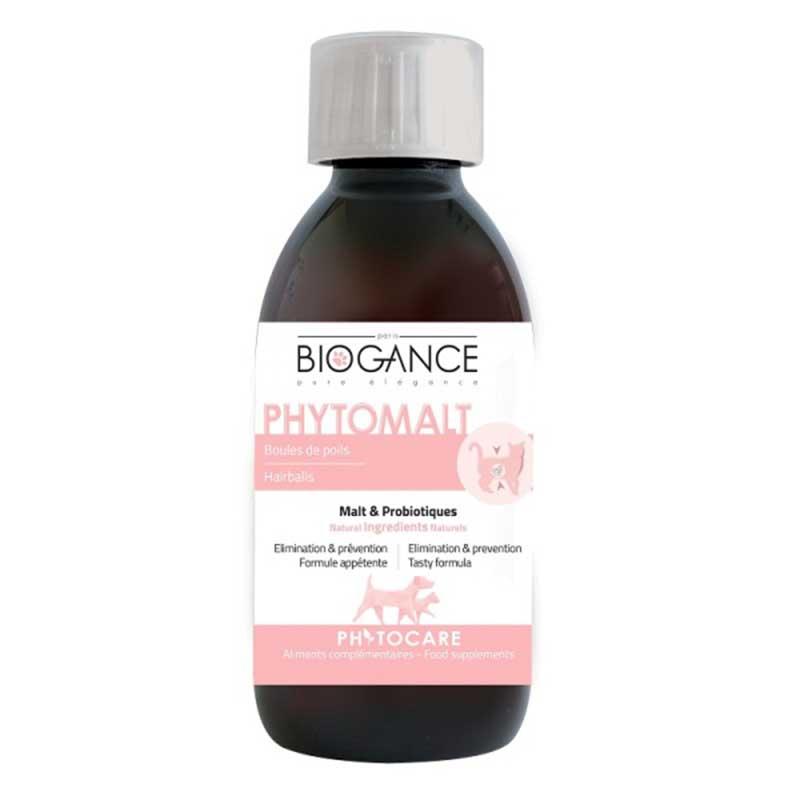 Biogance Phytomalt - помага за премахване и предотвратяване на образуването на космени топки 200мл