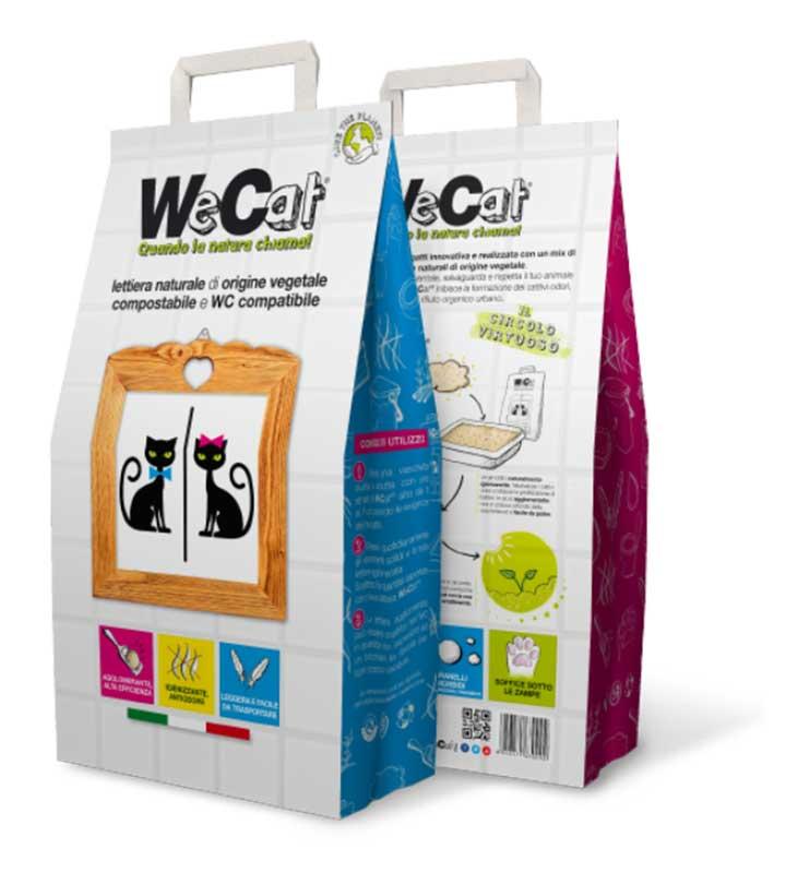 WeCat - екологична котешка тоалетна 4.5кг