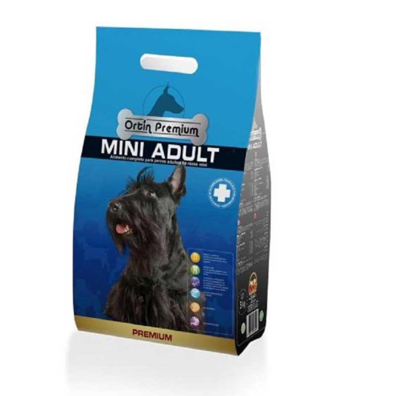 Piensos Ortin Premium Adult Mini 3кг