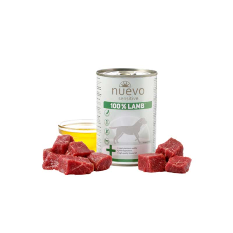 Nuevo Dog Sensitive Lamb - с агнешко месо 400гр
