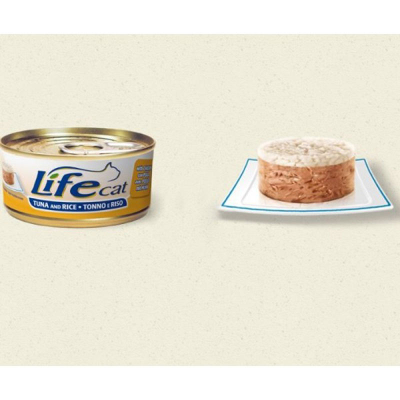 Life Natural Lifecat Tuna, Chicken and Rice - с риба тон, пилешко месо  и ориз 170гр