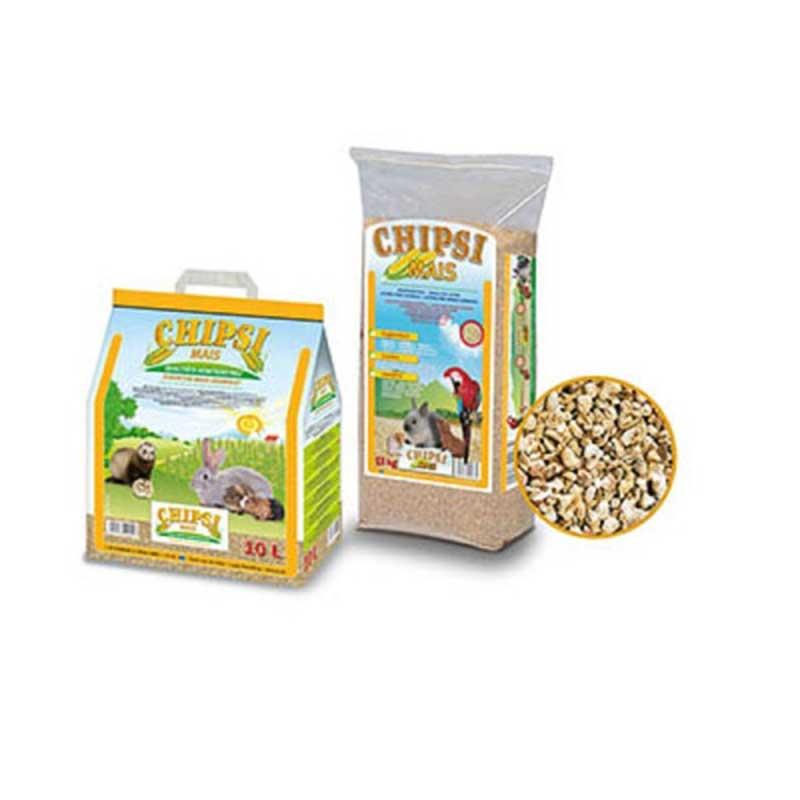 JRS Chipsi Mais - хигиенни царевични гранули за птици и гризачи 10л